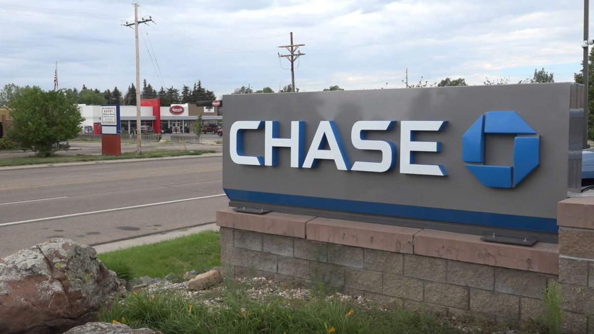 Chase Bank on Dell Range Blvd on Wednesday July 21, 2021.