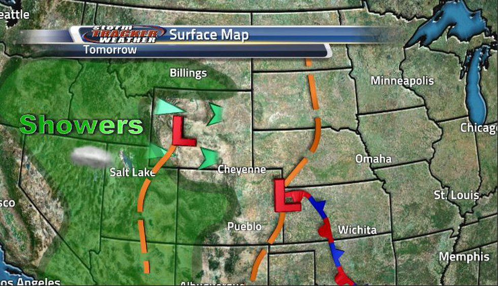 With the low pressure system coming through the state tomorrow, it'll bring with it gusty winds...
