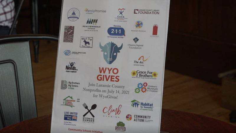 WyoGives Day is going on across the state on July 14, 2021.