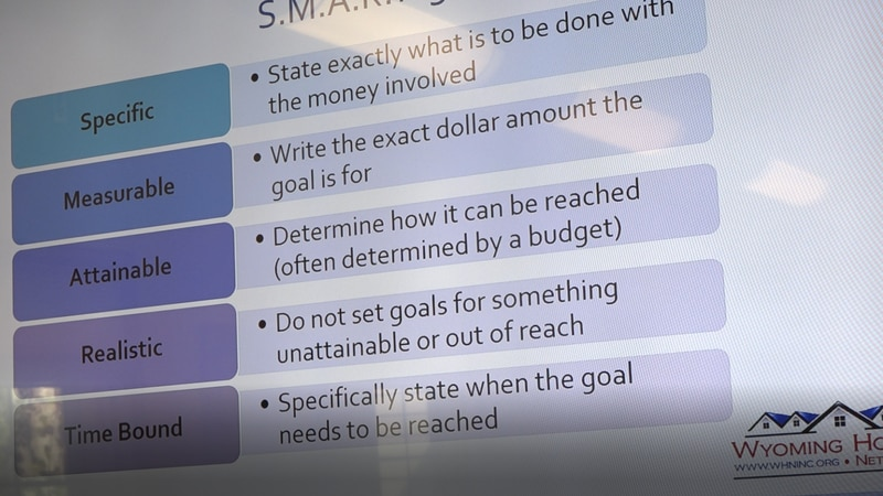 One of the slides of the financial foundations course