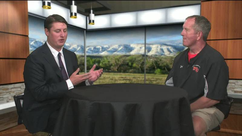 Wyoming News Now's David Graf sits down with NC Head Football Coach Steve Harshman heading into...