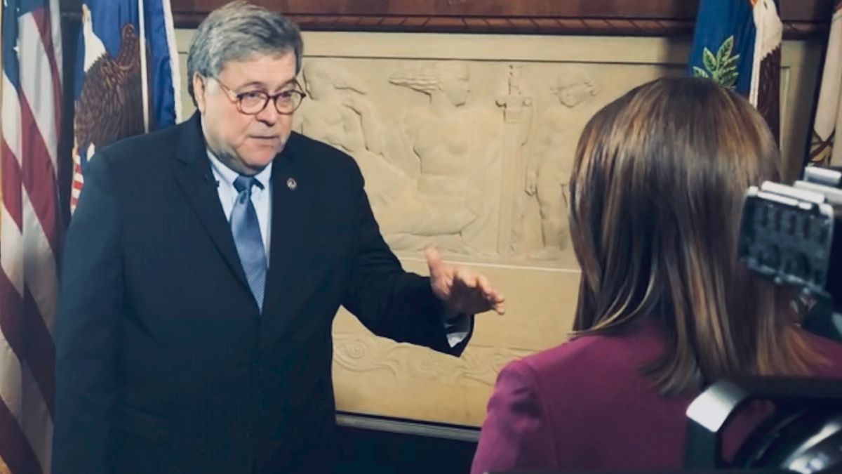 One-on-one with Attorney General Barr: DOJ to prosecute hoarders and price gougers (Source: Gray DC)