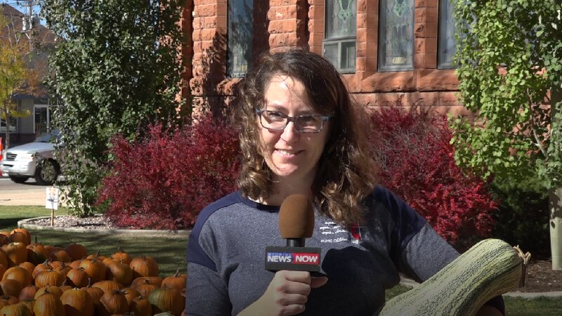 Pumpkin Patch on the First United Methodist Church. Angela Sellers-Swanson, Director of Family...