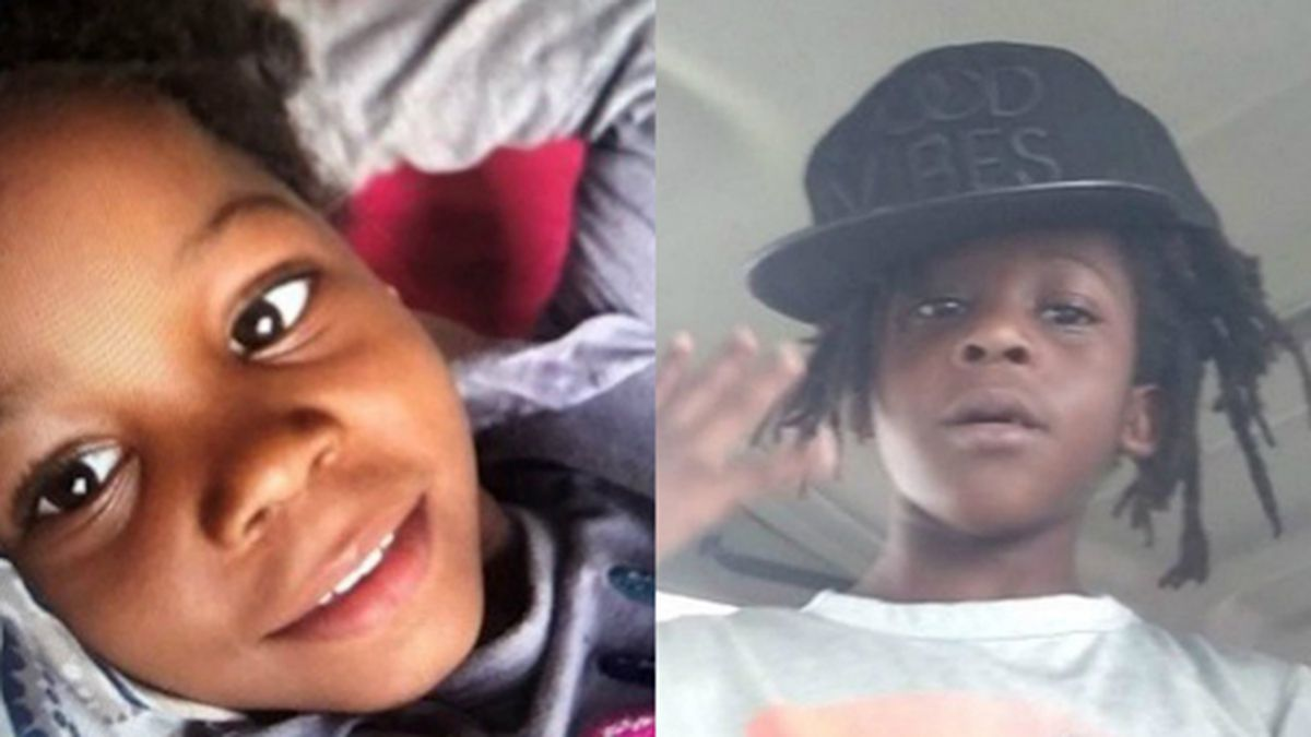 An Amber Alert was issued for Bri'ya Williams, left, and Braxton Williams, right, who went missing while playing in their front yard in Florida. (Source: Jacksonville Sheriff's Office/CNN)