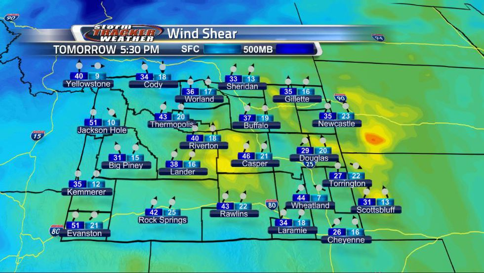 Wind shear is the change of wind with height in the atmosphere in terms of direction and speed....