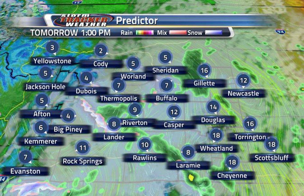 Rain chances increase overnight and will stick around through tomorrow.