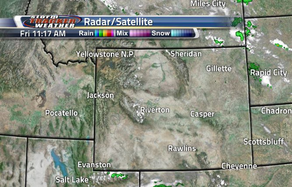 It is safe to say that this morning was a clear start. There were only a few showers near the...