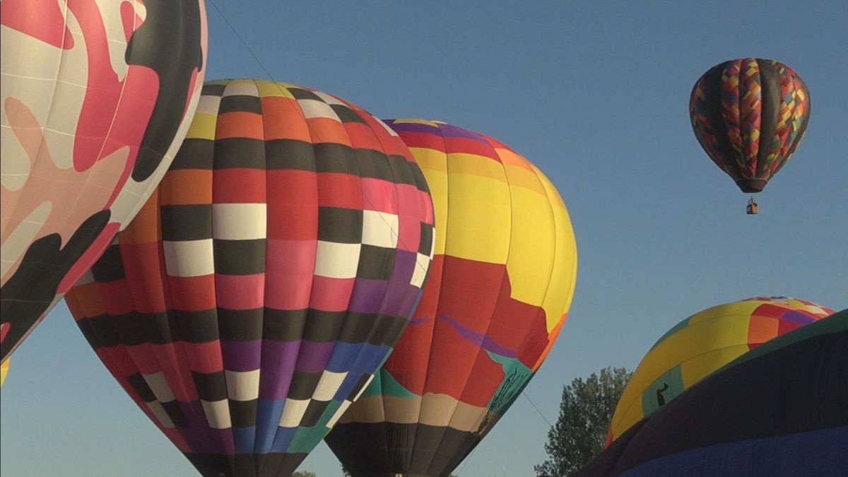 Balloons fly high in RIverton skies as the 2020 rally kicks off with 40th annual event.