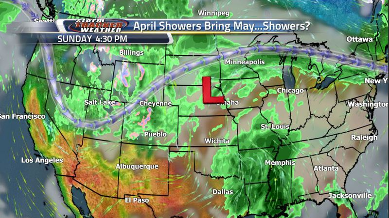 Widespread rain is expected to begin Sunday and continue into Monday for much of Wyoming as the...