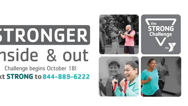 The YMCA Challenge started October4 18th