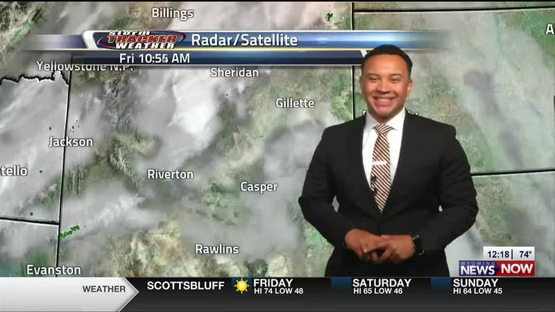 Julian Friday Noon Forecast