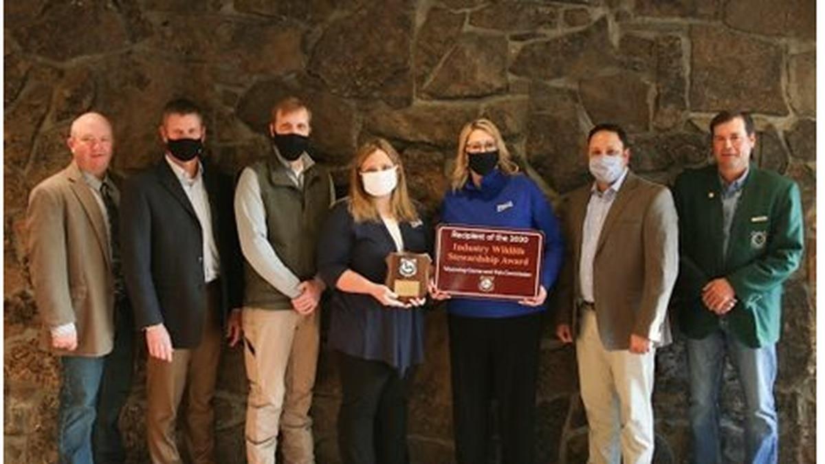 Williams receives 2020 Wildlife Stewardship Award (Wyoming Game and Fish website)
