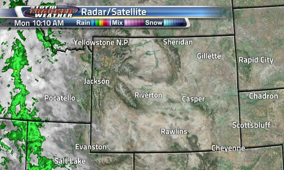 Across the state, we are seeing clear conditions today. To our west, clouds and rain are very...