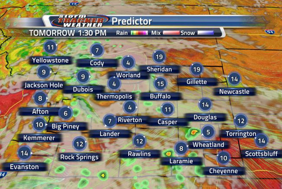 Cloud coverage will stick around through tonight into tomorrow. These clouds will carry in some...