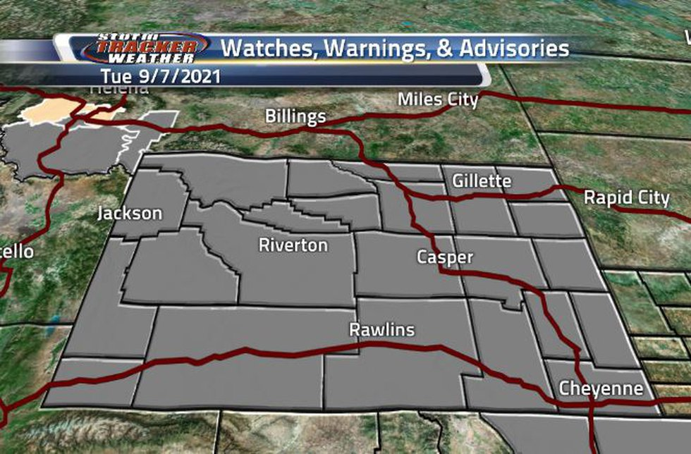 There are Air Quality Warnings across the state today.