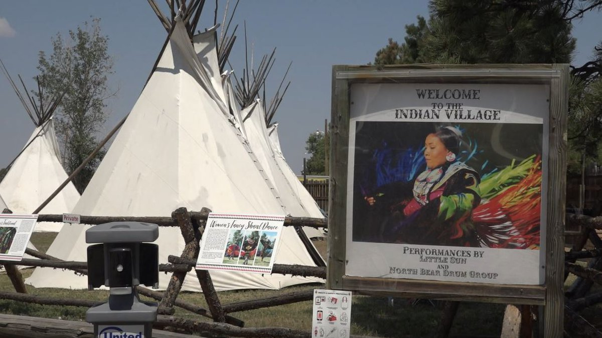 The CFD Indian Village on Monday July, 26, 2021.