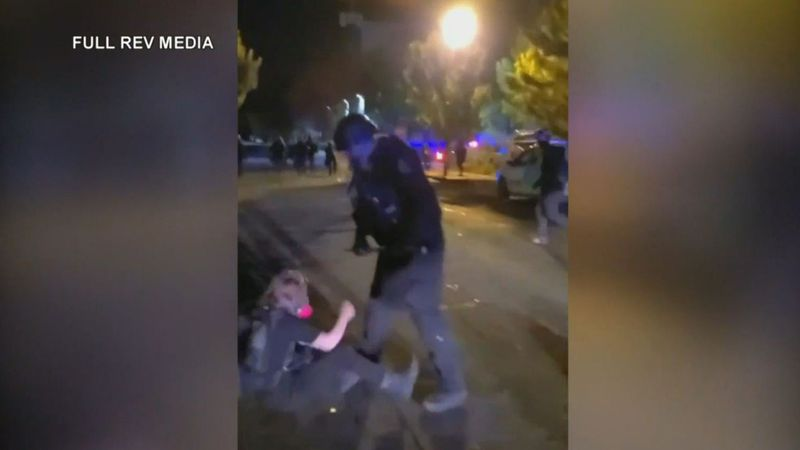 A Portland, Oregon, police officer was indicted on an assault charge over his use of force at a...