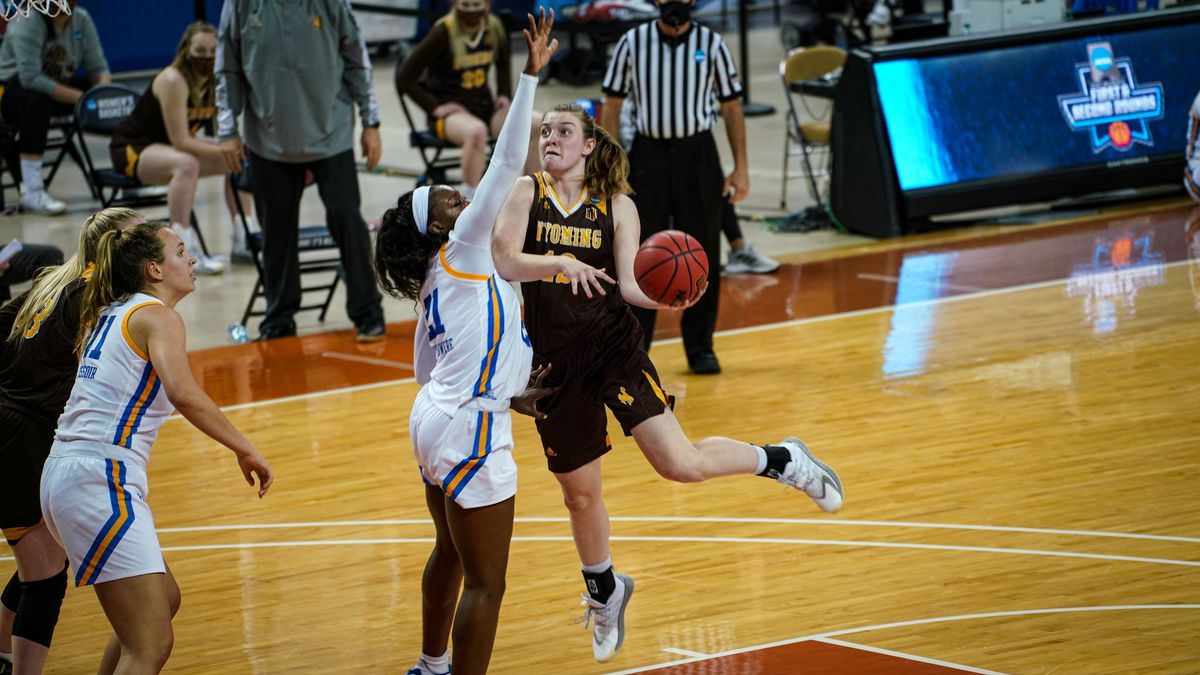 The Cowgirls fall to the Bruins 69-48 in the first round of the 2021 NCAA Women's Basketball...