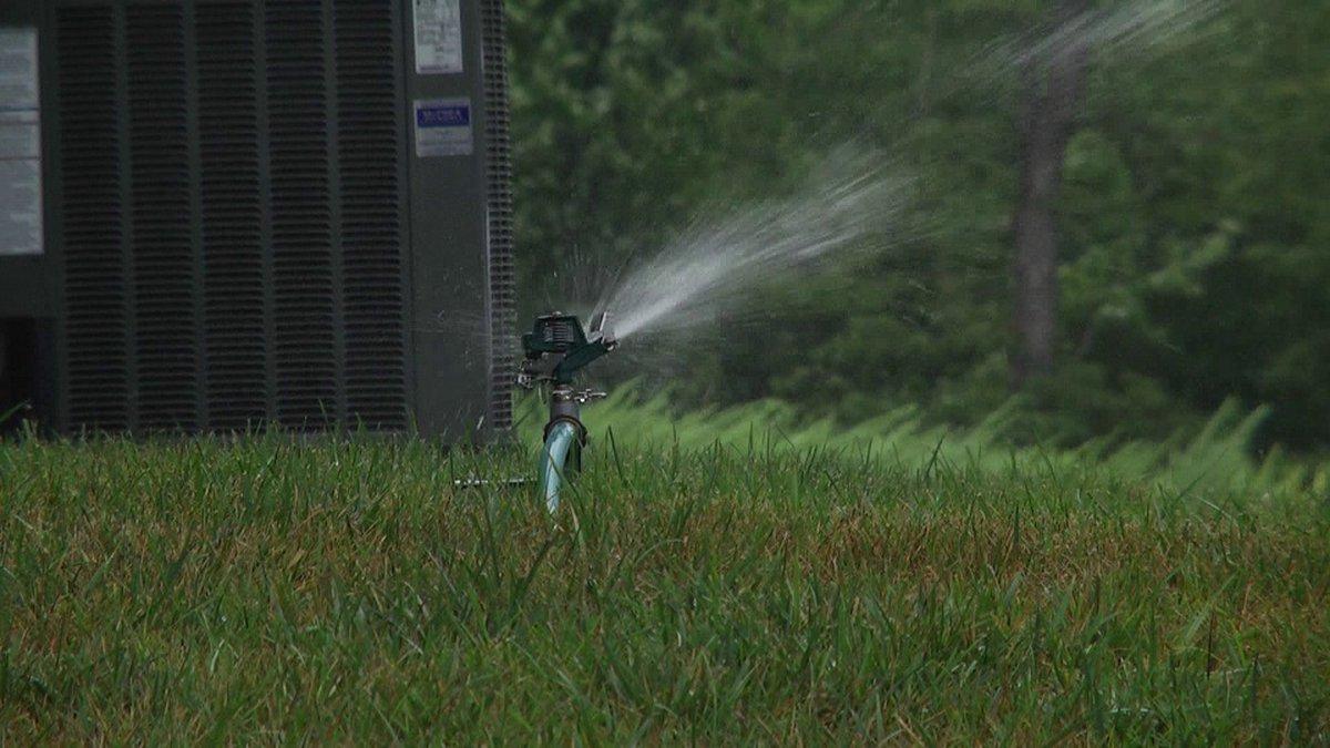 Lawn watering in Albemarle County (FILE)