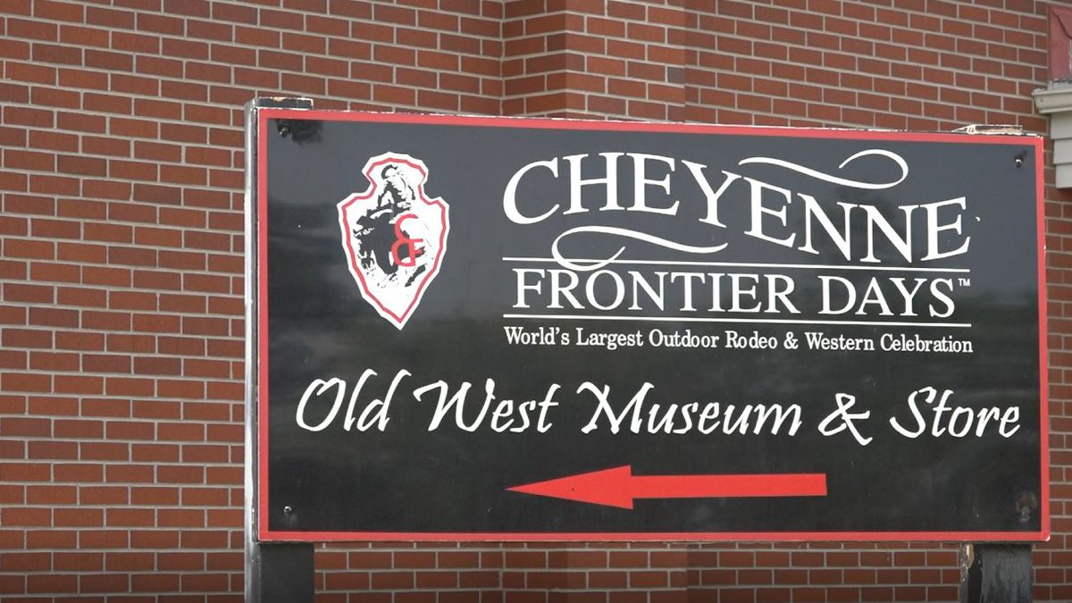 The CFD Old West Museum sign Monday afternoon.