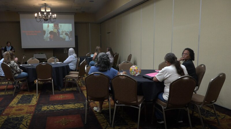 District staff from across the state met for a conference