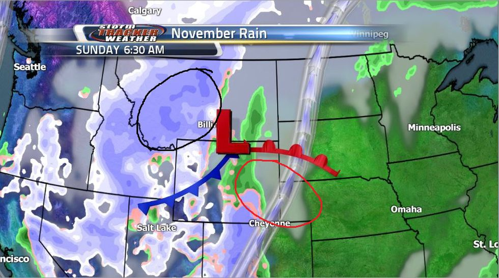 Snowfall amounts will be heavily limited for most of the state this weekend thanks to warmer...