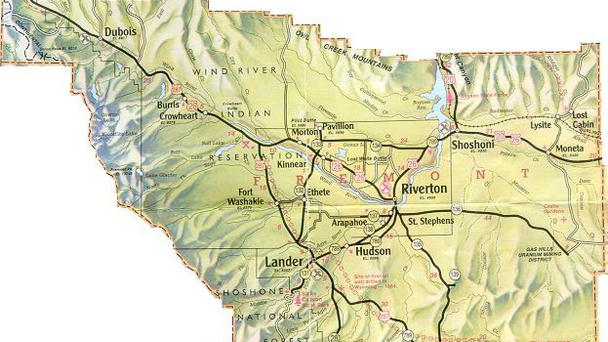Map Created To Boost Tourism On Wyoming Reservation