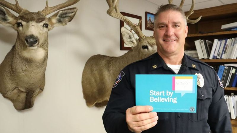 A CPD officer pledged to start by believing
