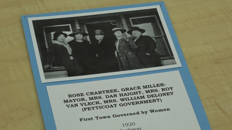 Here are the five women who governed the town of Jackson Hole. The first town in Wyoming to be...