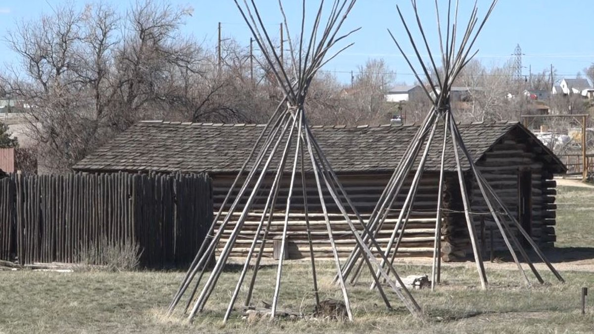 Part of the outside that visitors can view on a trip to the Fort Caspar Museum in Casper, Wyo.