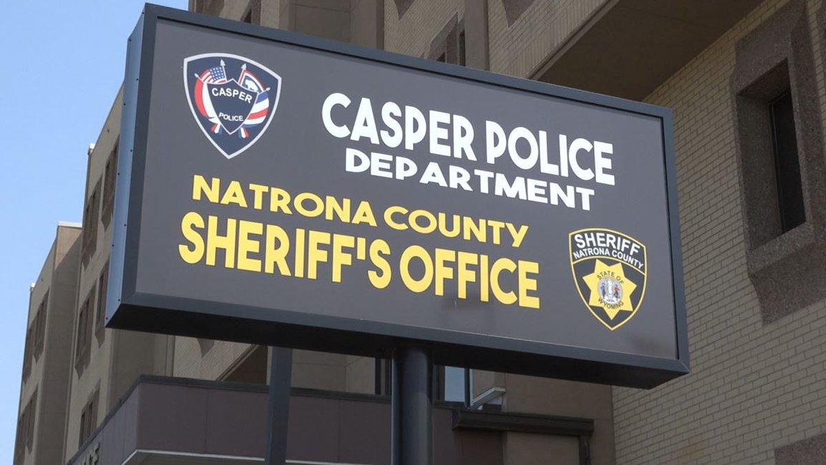 Casper Police Department sign
