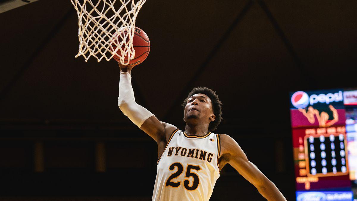 Freshman Jeremiah Oden dunks the ball