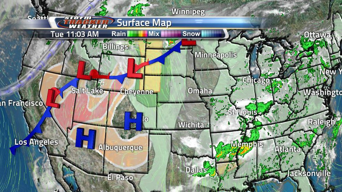 Tuesday afternoon is full of weather hazards in the Cowboy State as powerful winds from...