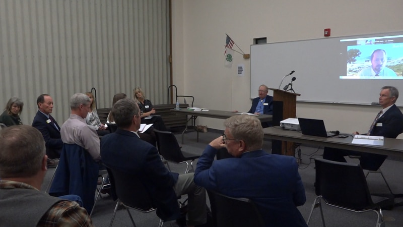 State and county officials met and discussed the redistricting process and how it impacts...