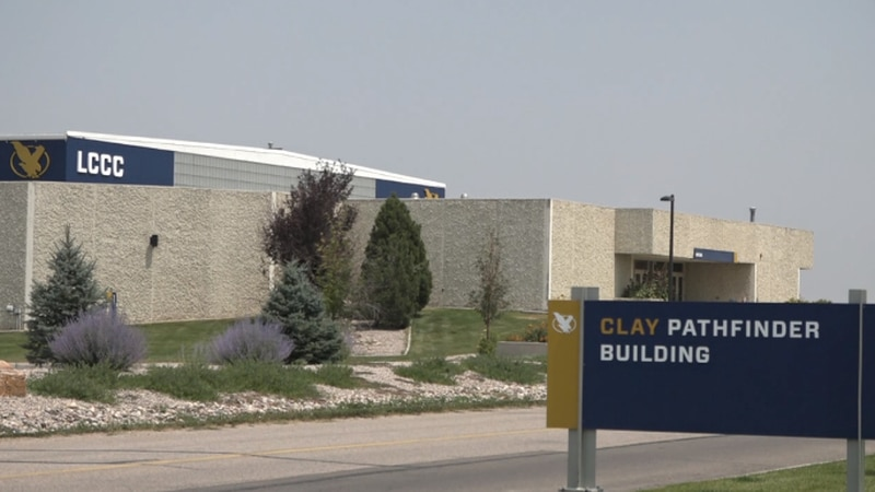 Clay Pathfinder Building at Laramie County Community College