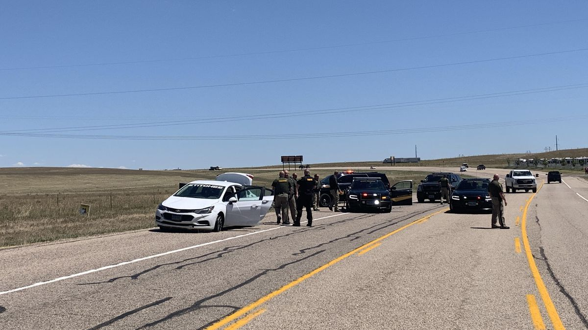 Driver allegedly leads Wyoming Highway Patrol on high speed chase near Cheyenne