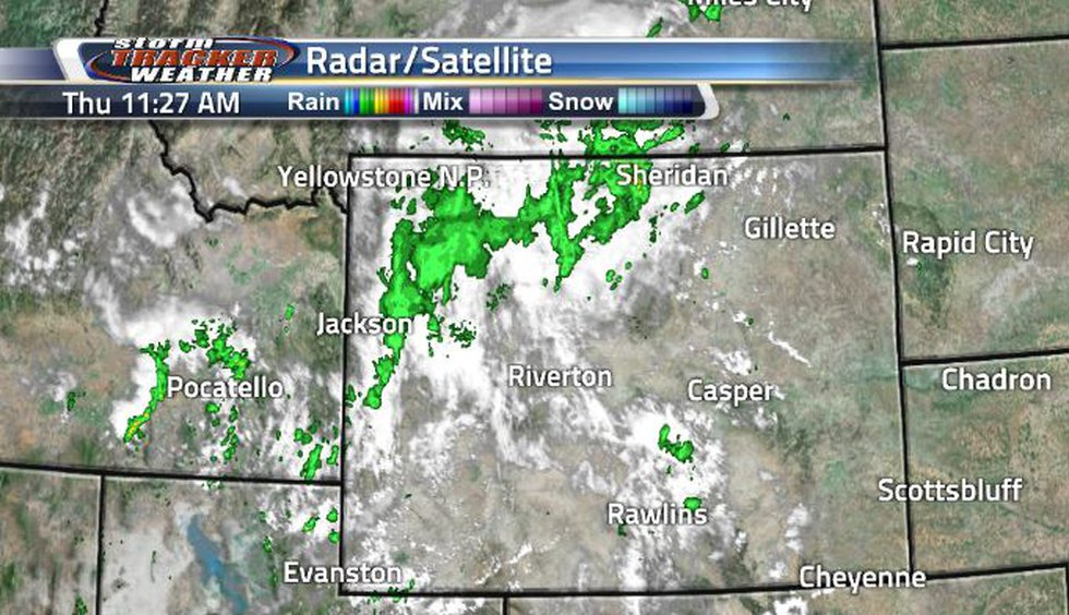 Rain and clouds have been taking place in the northwest corner. As that continues moving out,...