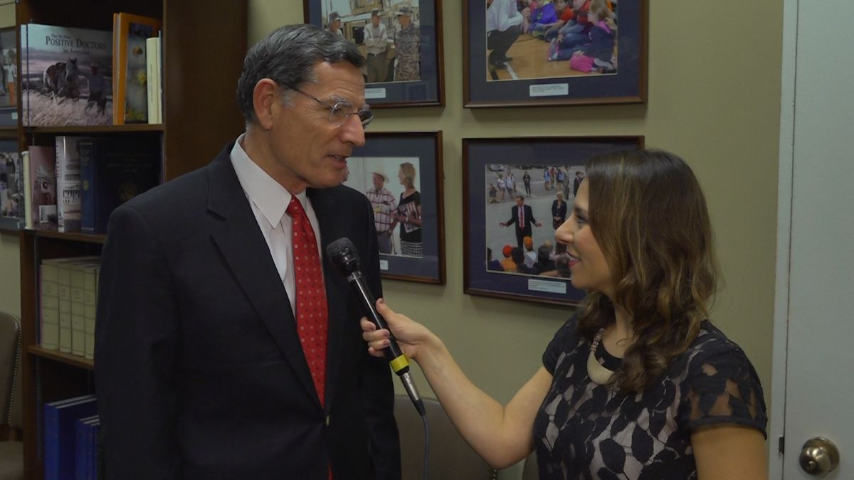 Sen. John Barrasso (R-WY) talked about his experiences on a special Thanksgiving trip overseas....